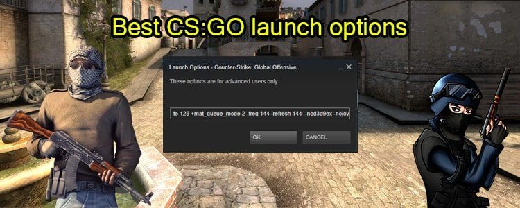 Best CS:GO launch options One must use for smooth game and